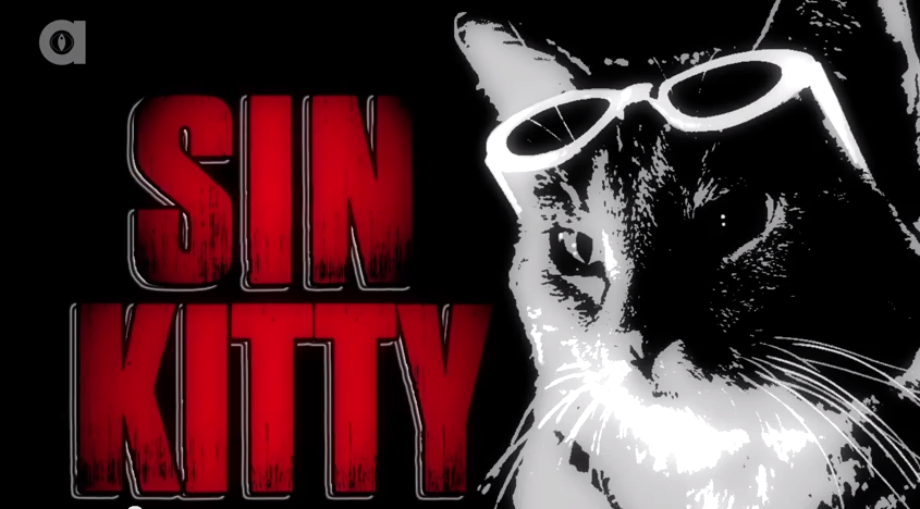 Me in the title role of Sin Kitty.
